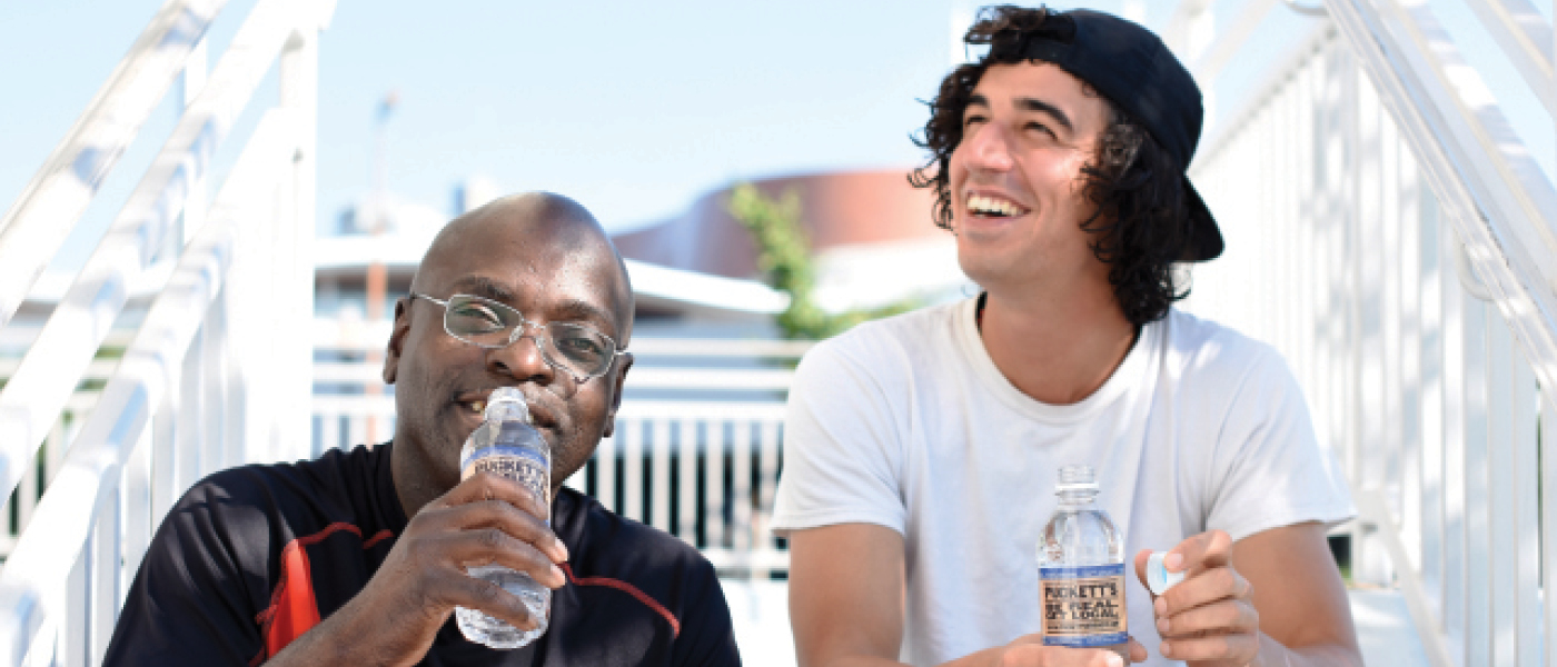 Help Hydrate the Homeless