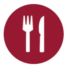 utensils-circle-icon