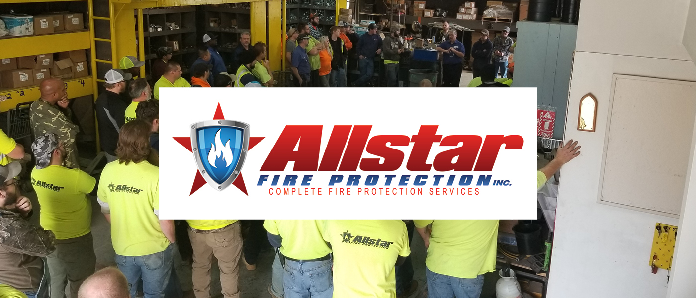 Supporter Spotlight: Allstar Fire Protection